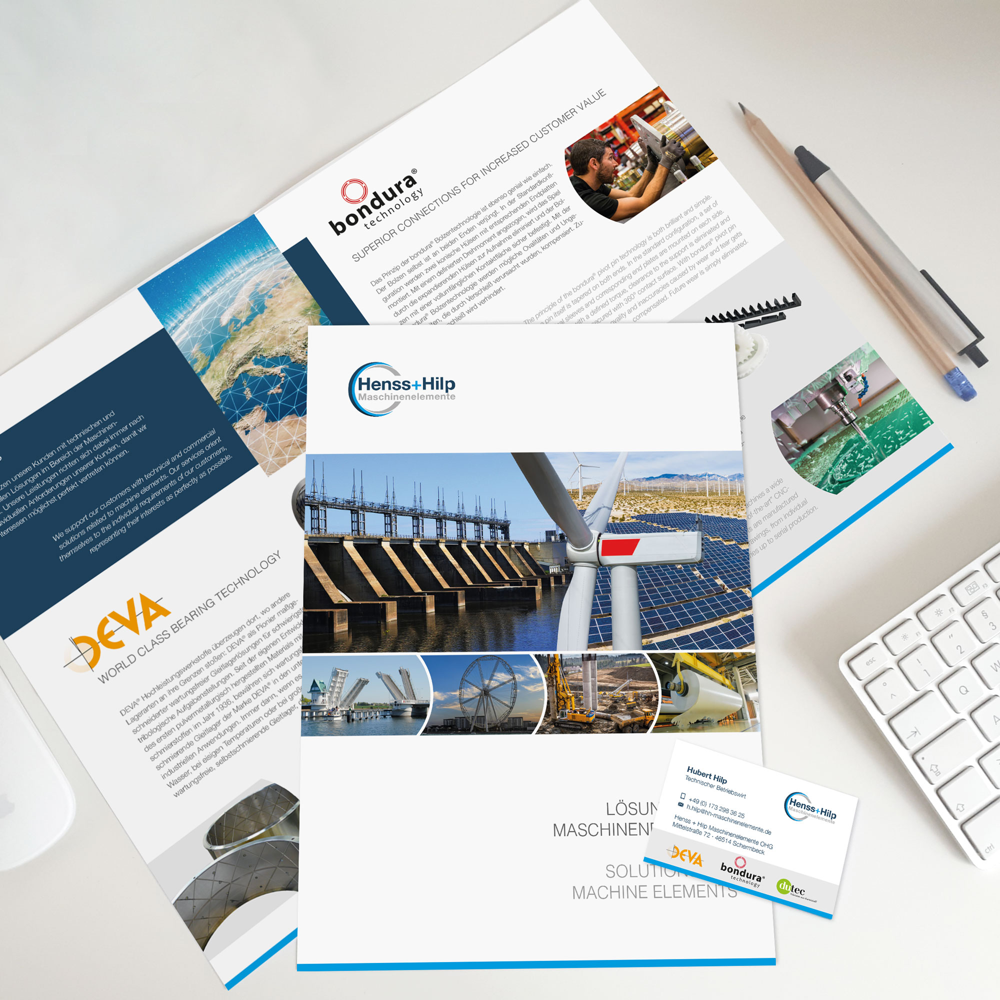 Print Flyer Broschüre Overkämping
